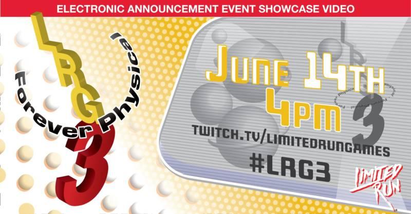 Limited Run Games E3 2021 Press Conference
