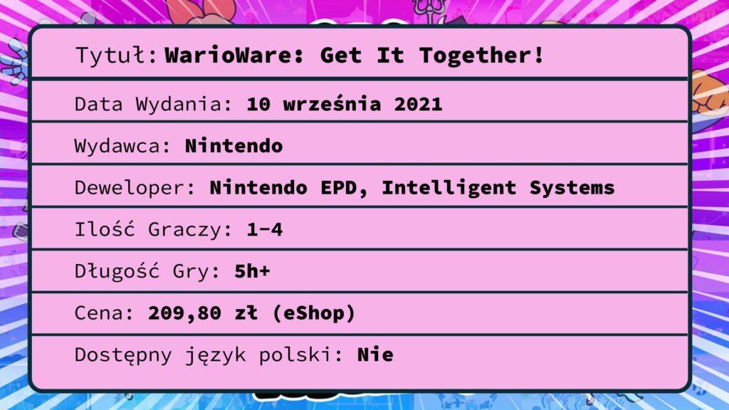 [Recenzja] WarioWare: Get It Together!