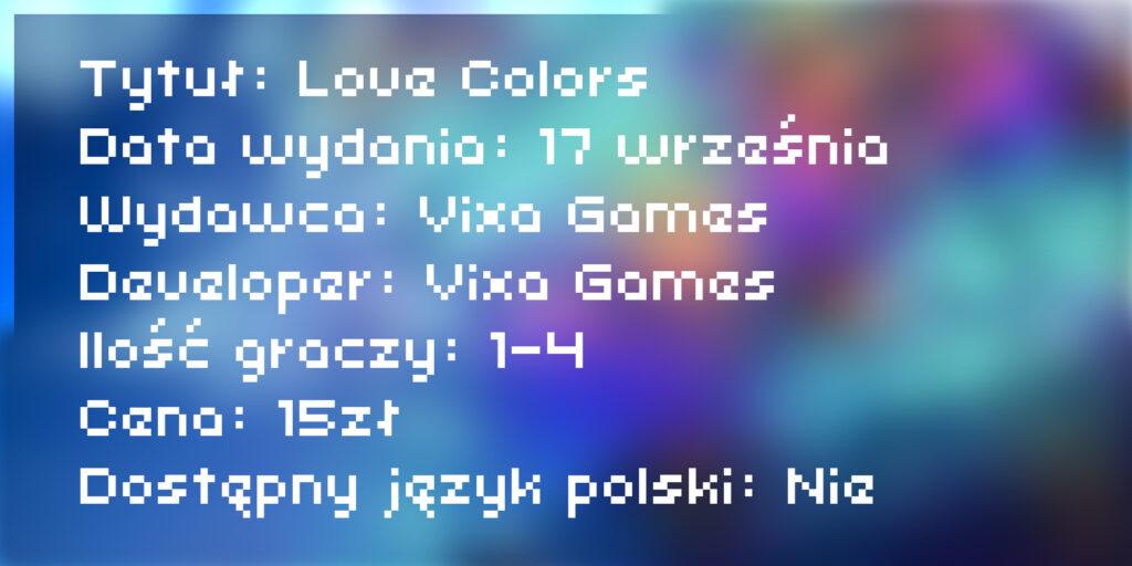 [Recenzja] Love Colors